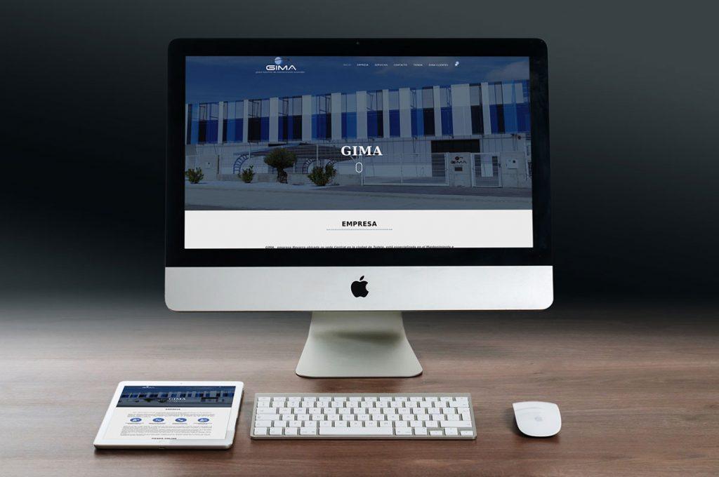 página web para Gima Navarra - Goviwebs