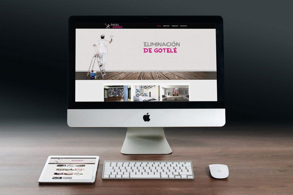diseño web en Tudela para angel jimenez - Goviwebs